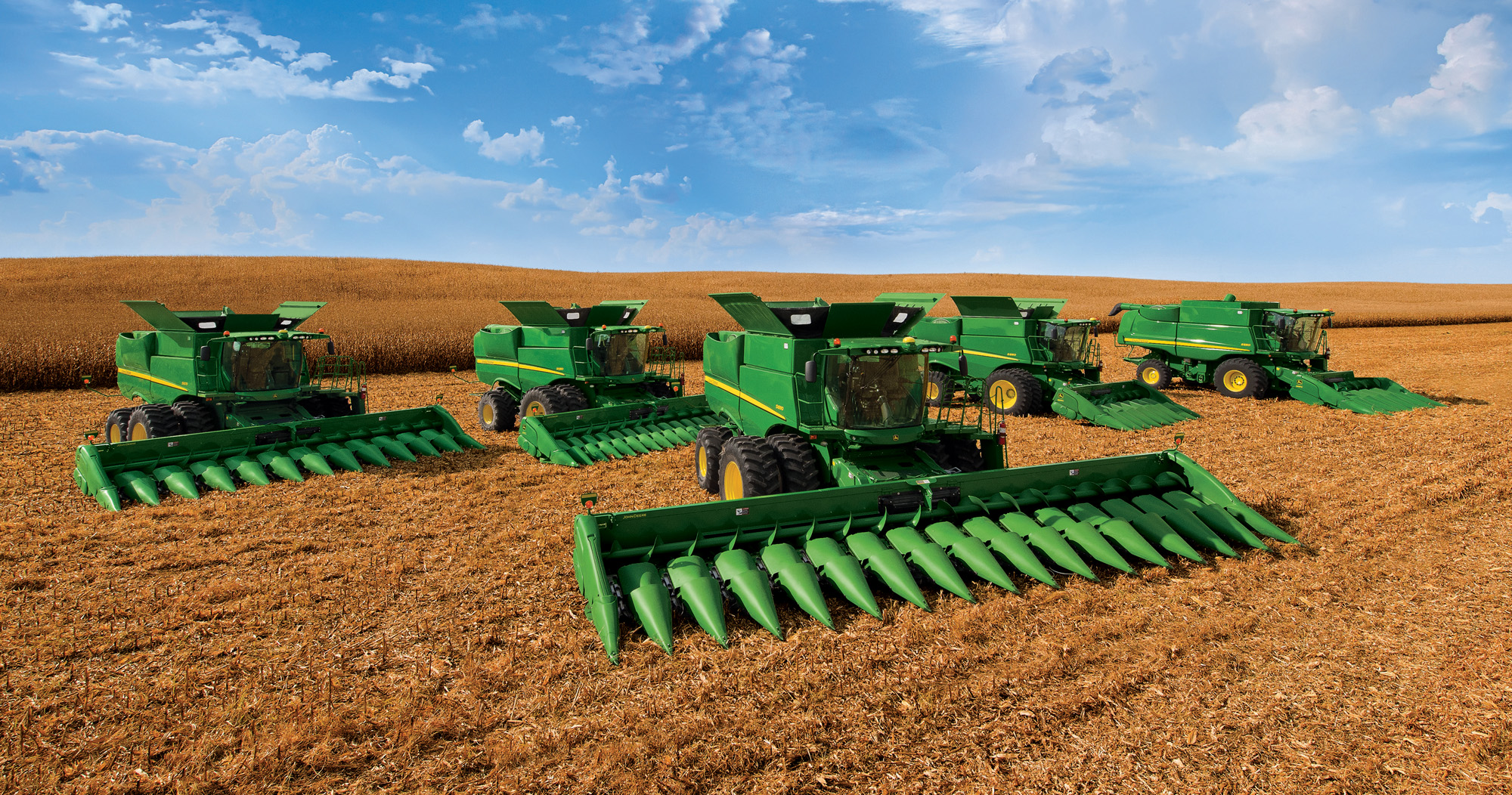 Hd Tractor Desktop Wallpapers: Deere's New Product Intro Was The Largest Ever