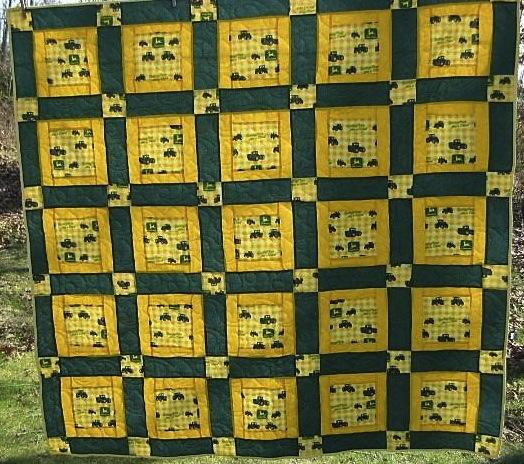 John Deere M >> Friday Fun: John Deere Quilts!