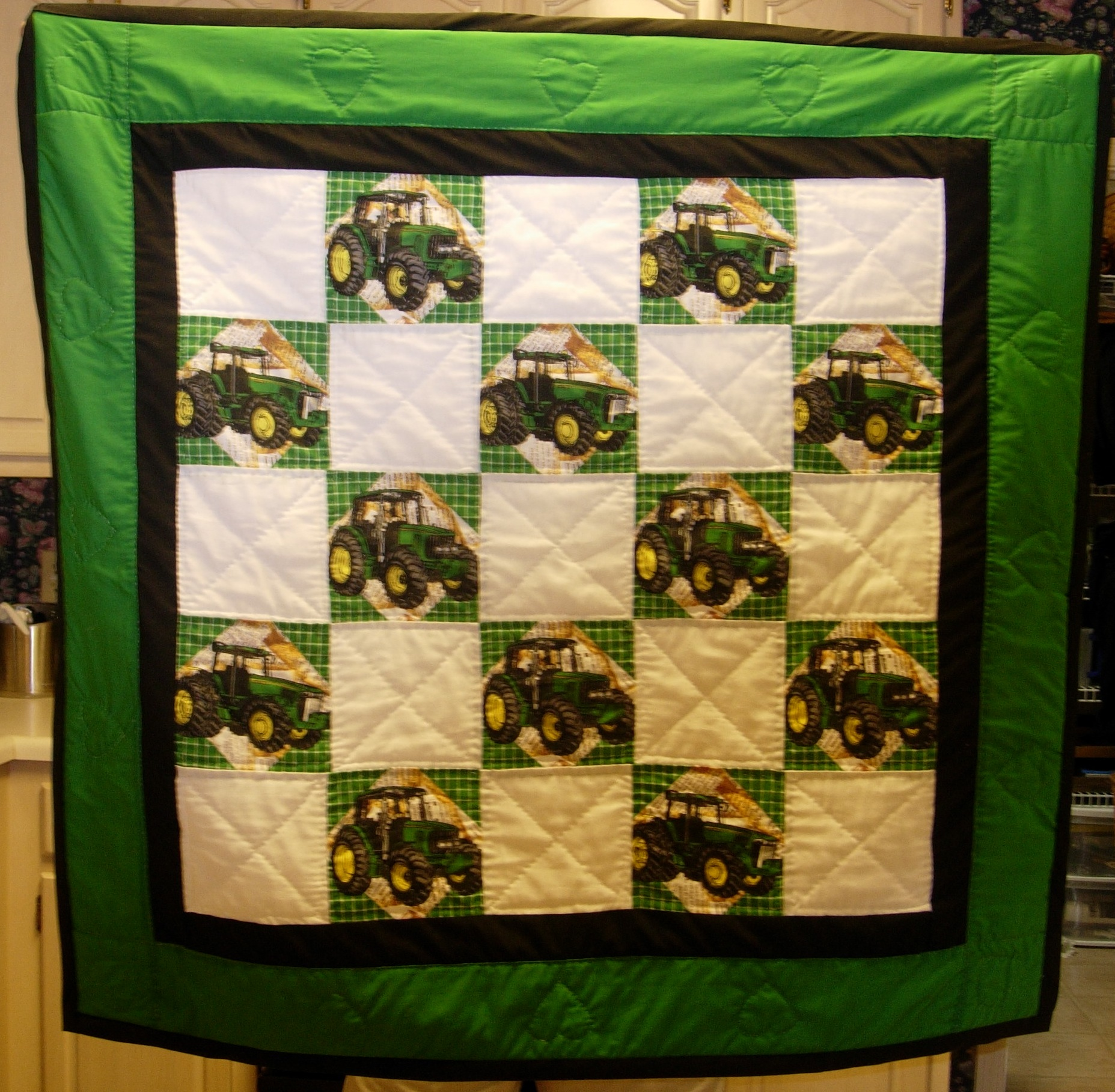 Friday Fun: John Deere Quilts! : john deere quilts - Adamdwight.com