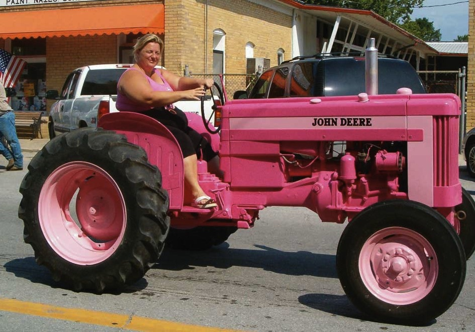 Friday Fun: Pink Tractors!