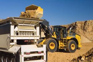 John Deere Construction Site Equipment