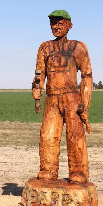 Friday Fun: John Deere Carvings