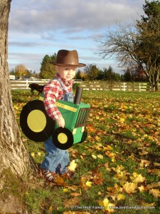 Friday Fun: John Deere Tractor Halloween Costumes