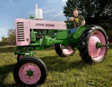 Friday Fun  Pink Tractors Pink John Deere Tractor