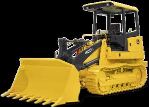 Used John Deere 605c crawler loader
