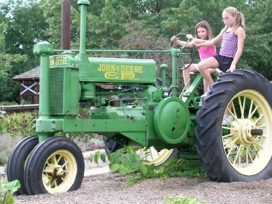 John Deere Kids and Tractors