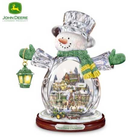 John Deere Attachments >> Friday Fun: John Deere Snow Globes!
