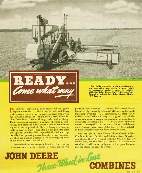 John Deere Tractor Ad : The top john deere advertisements