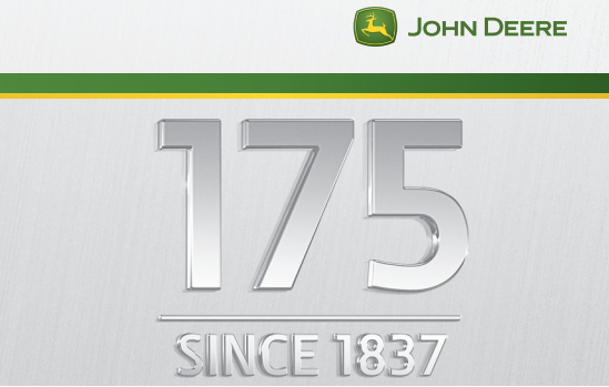 John Deere company history. 175 year history