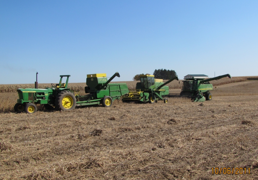 Deere Combines Through the Years