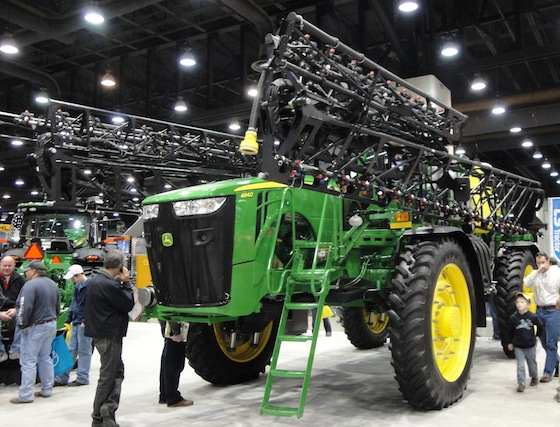 Planter at National Farm Machinery Show