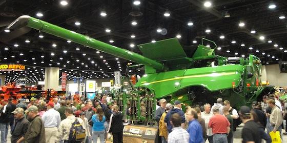 John Deere Farm Tractors >> John Deere at the 2012 National Farm Machinery Show