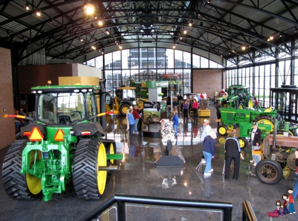 New John Deere Pavilion A Fresh Look For The John Deere Pavilion