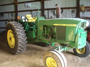 1972 John Deere 4020 Sold For 28 000 At Ohio Auction