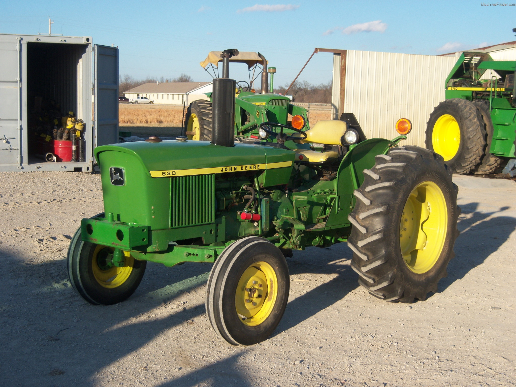 minnesota couple displays passion for john deere tractors. Black Bedroom Furniture Sets. Home Design Ideas