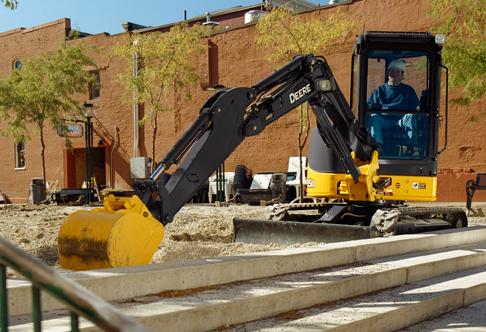 John Deere 35 Excavator