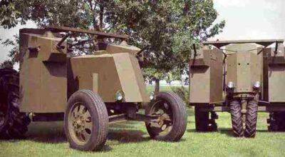 John Deere Armored World War II