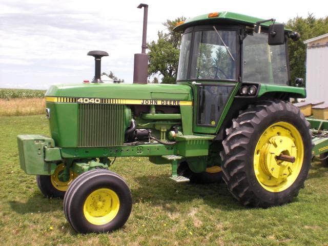 1980 Joh Deere 4040 Tractor