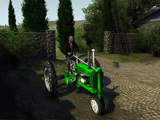 John Deere American farmer - agriculture simulator game