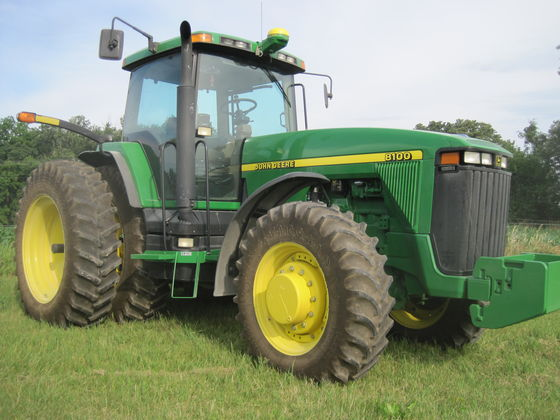 John Deere 8330 Tractor Sold For Record Price On Minnesota