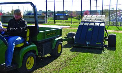 John Deere Equipment Amp Baseball Fields Efficiently Fixing