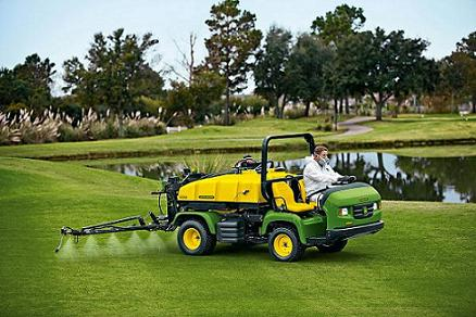 jd turf John Deere Turf Care Division Helps to Show Off Efficiency of Factory