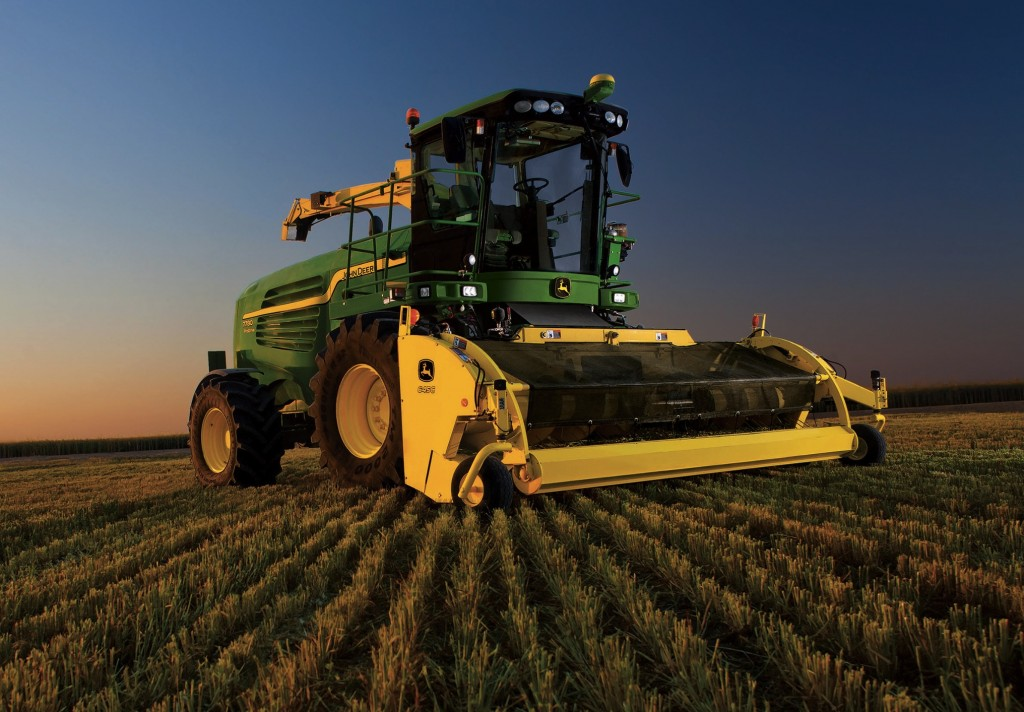 New John Deere Harvester