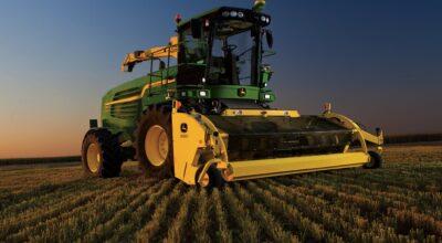 New John Deere Harvester
