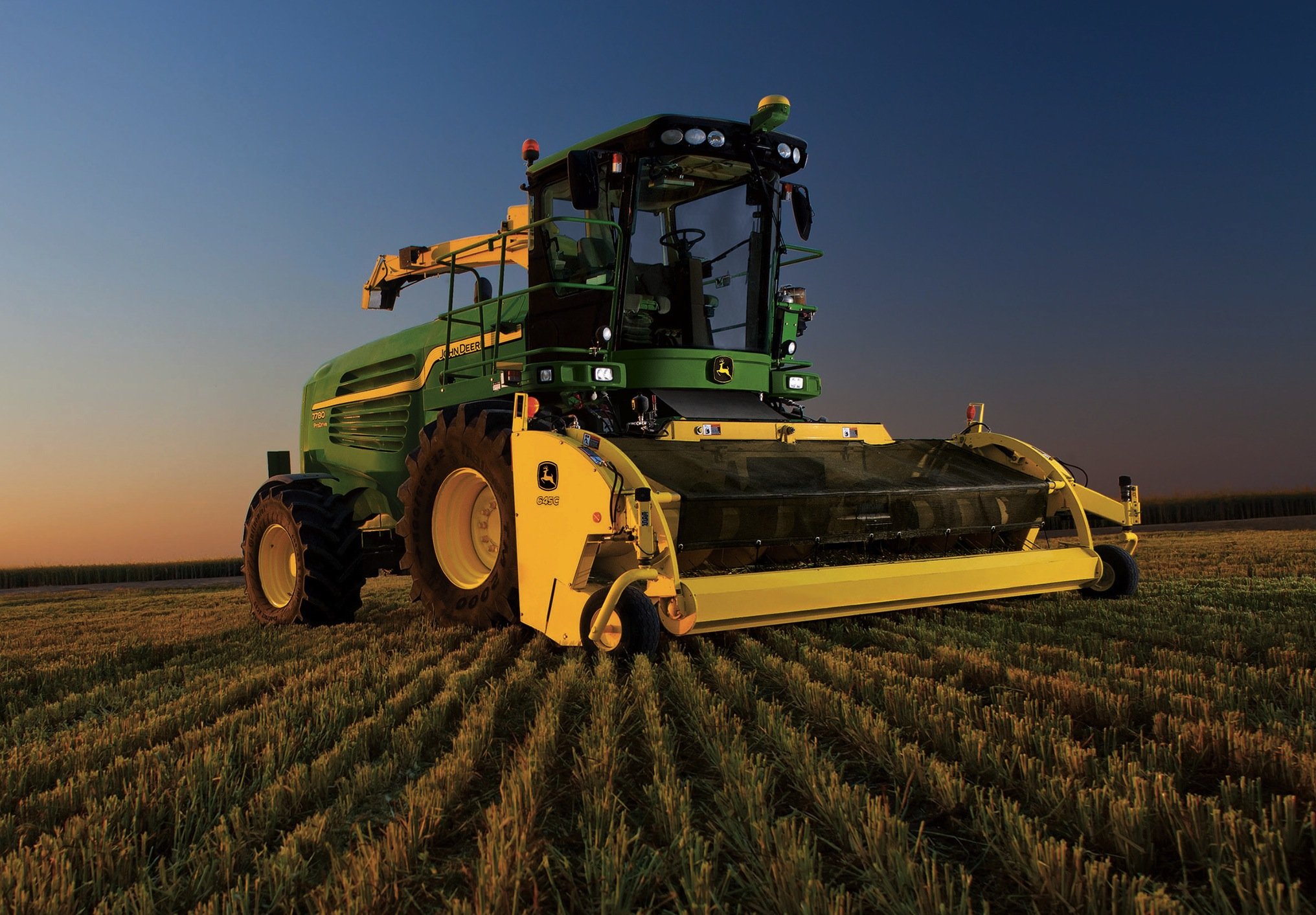 Трактор John Deere 8100 (1995) - YouTube