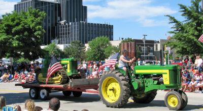 Green Tractor Parade