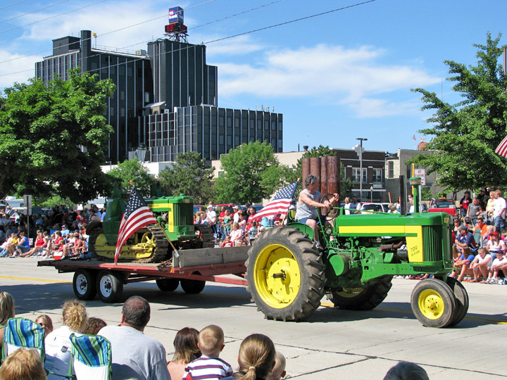 Green Tractor Parade