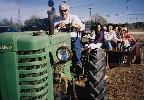 Hayride picture of a Johnny Popper