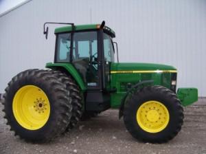 John Deere popular tractors