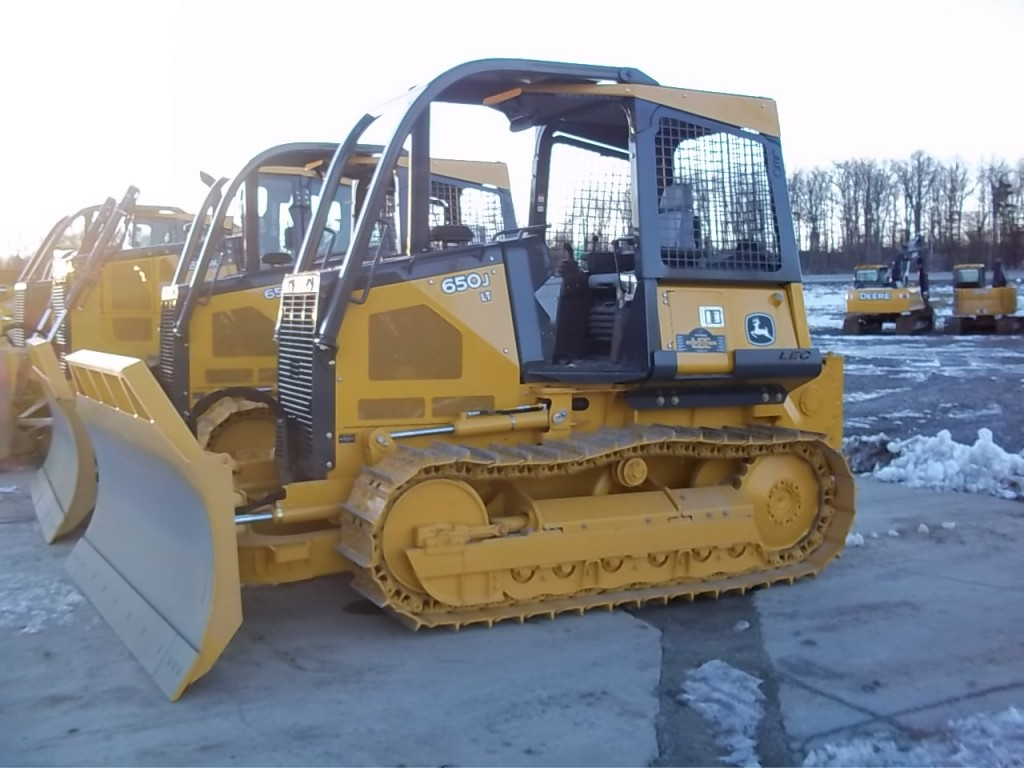 used heavy equipment crawler dozer