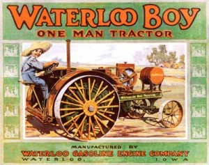 John Deere invention of the Waterloo Boy