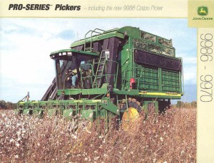 John Deere invents the cotton picker