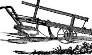 "deere plow 300x179 175 Years in the Making: Monumental John Deere ""Firsts"""