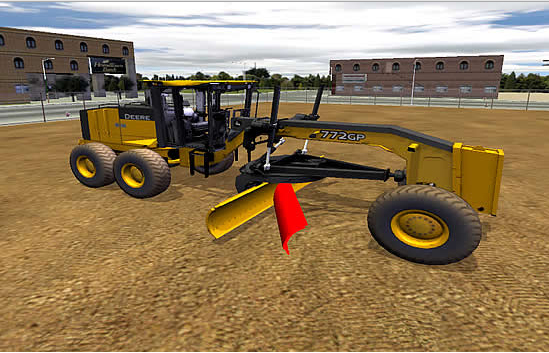 John Deere construction simulators