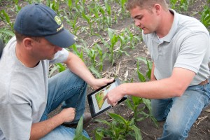 John Deere's Mobile Farm Manager was created to help farmers in the field