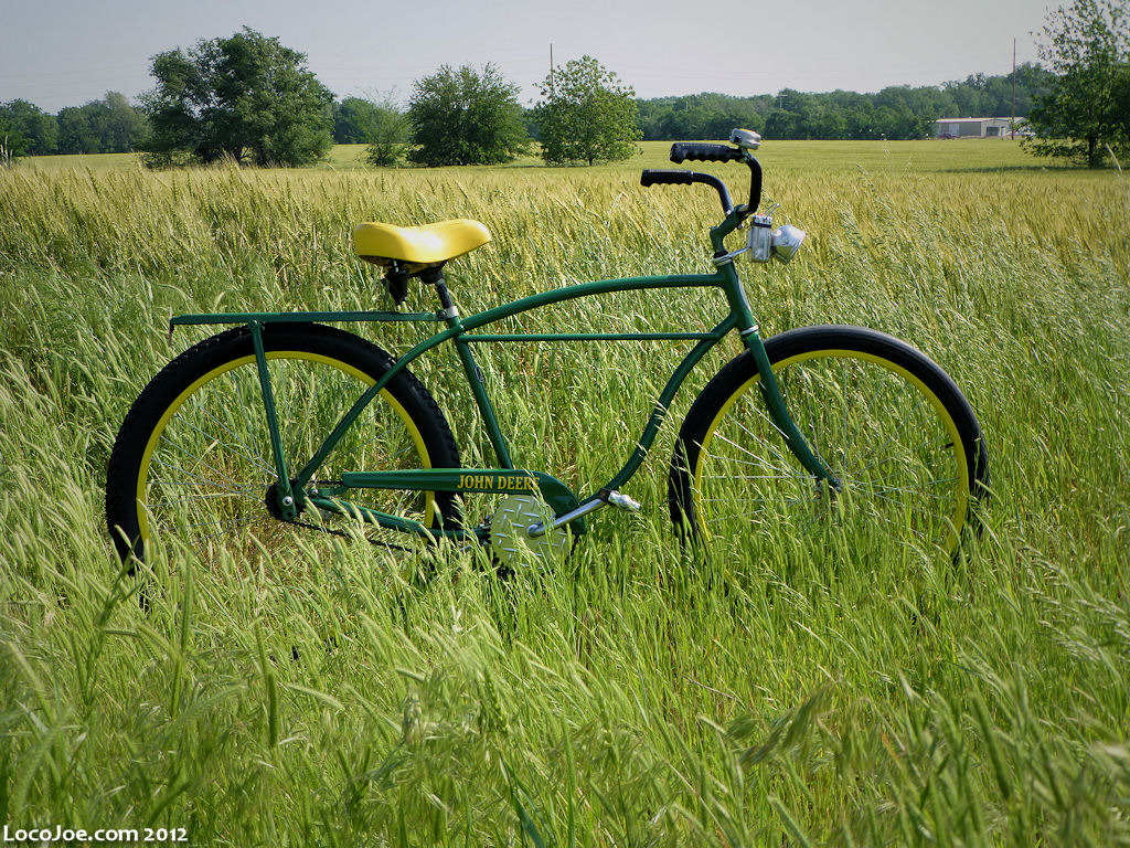 shape bike John Deere in Our Everyday Lives