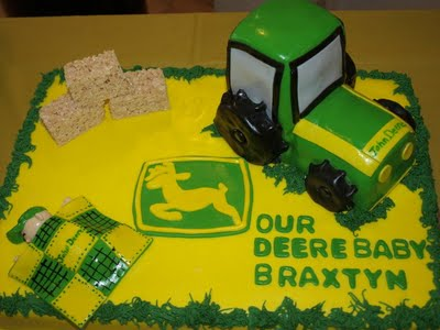 shape cake John Deere in Our Everyday Lives