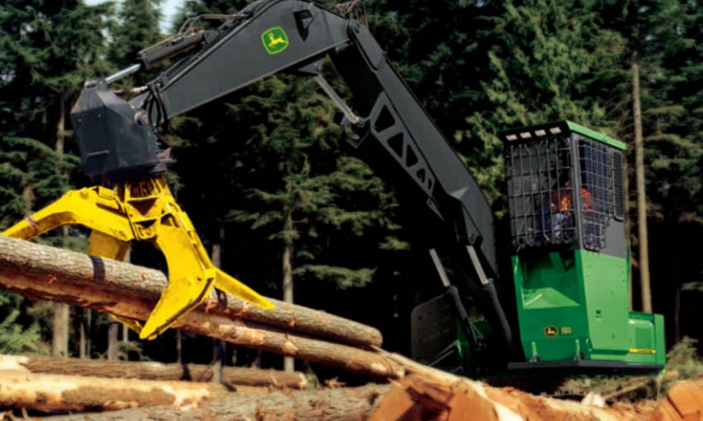 John Deere Swing Machine. John Deere Forestry Machines