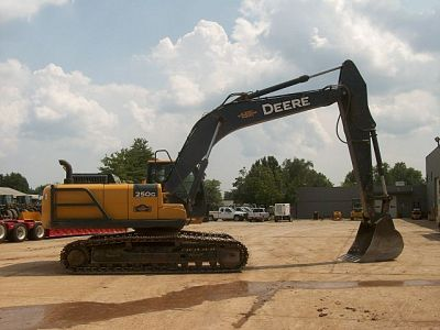 used heavy equipment excavator