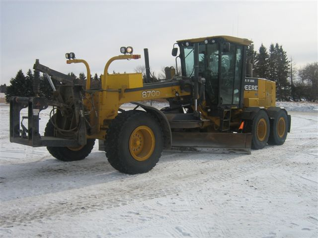 used heavy equipment motor grader