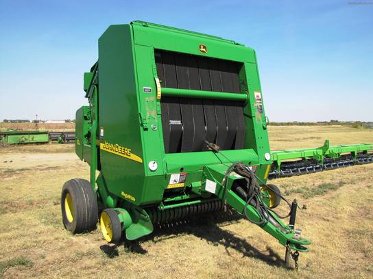 used heavy equipment round baler