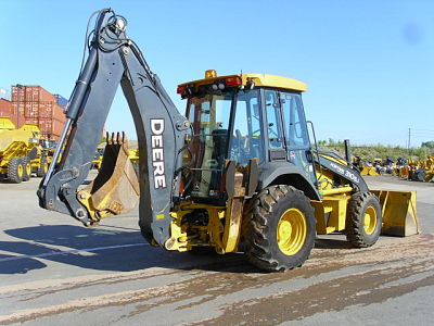 310SJ 2 Backhoe Loader Review: John Deere 310SJ vs. John Deere 310E