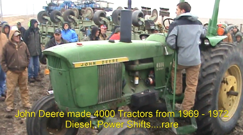 JD4000 IA pic2 35K 1971 JD 4000 Tractor Sold for $35,000 on Iowa Auction
