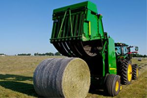 John Deere B-Wrap technology will retain hay quality