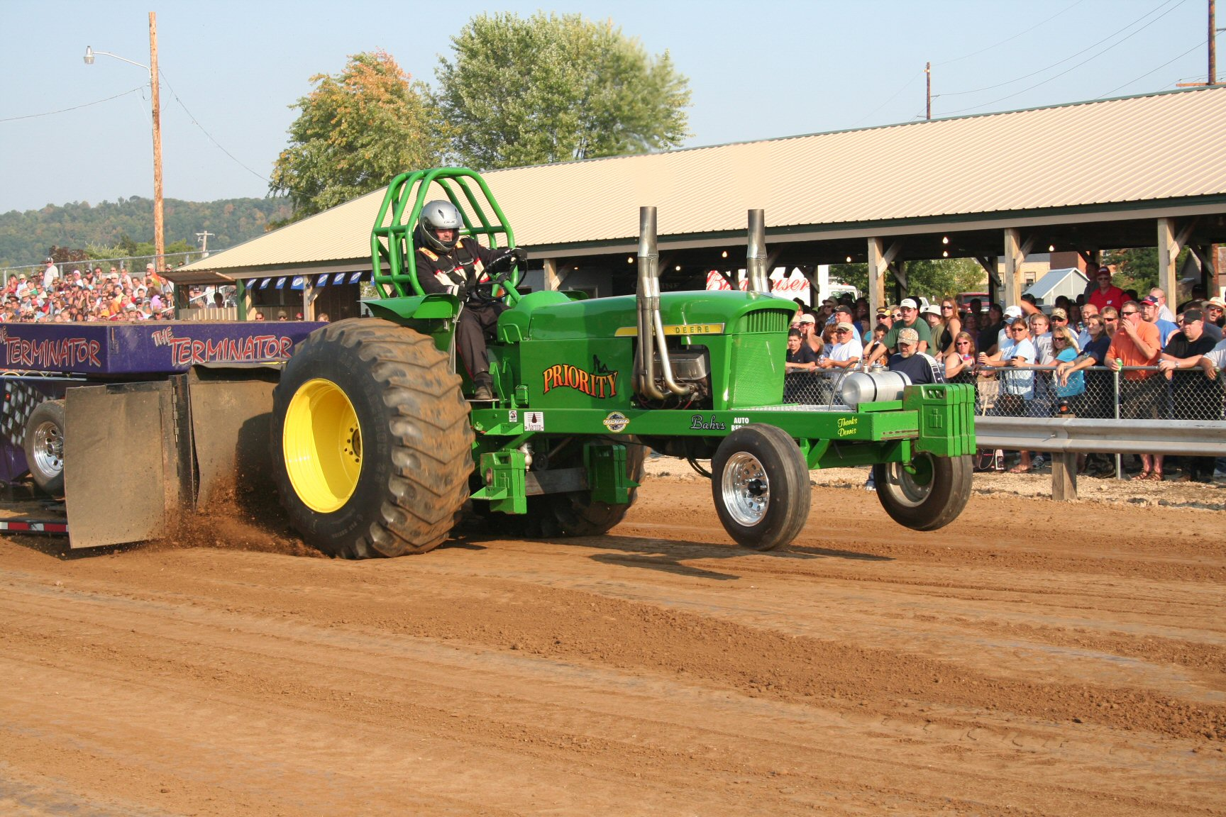Tractor Pull 2 Picture Gallery: A John Deere Tractor Pull Extravaganza