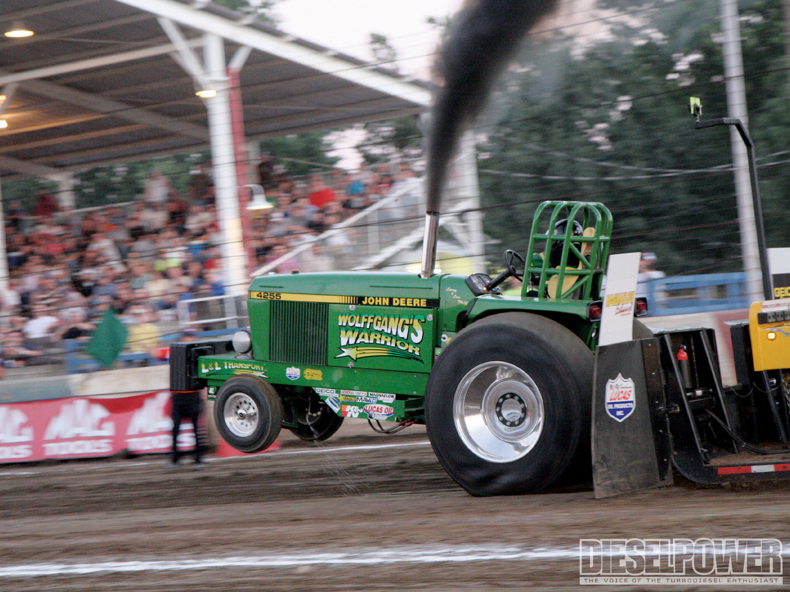 Tractor Pulling Tractor : Action packed john deere tractor pull photos